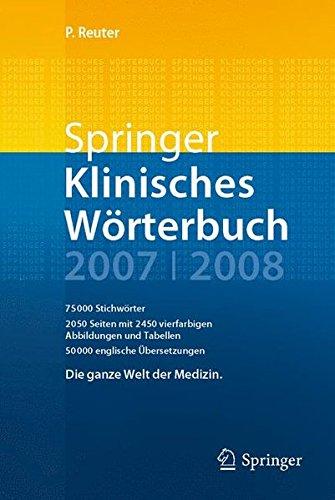 Springer Klinisches Wörterbuch