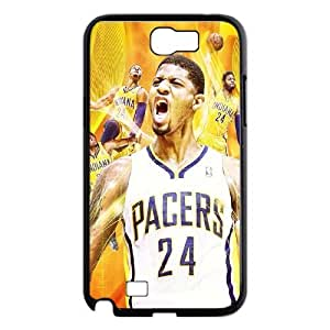 J-LV-F Diy Phone Case Paul George Pattern Hard Case For Samsung Galaxy Note 2 N7100