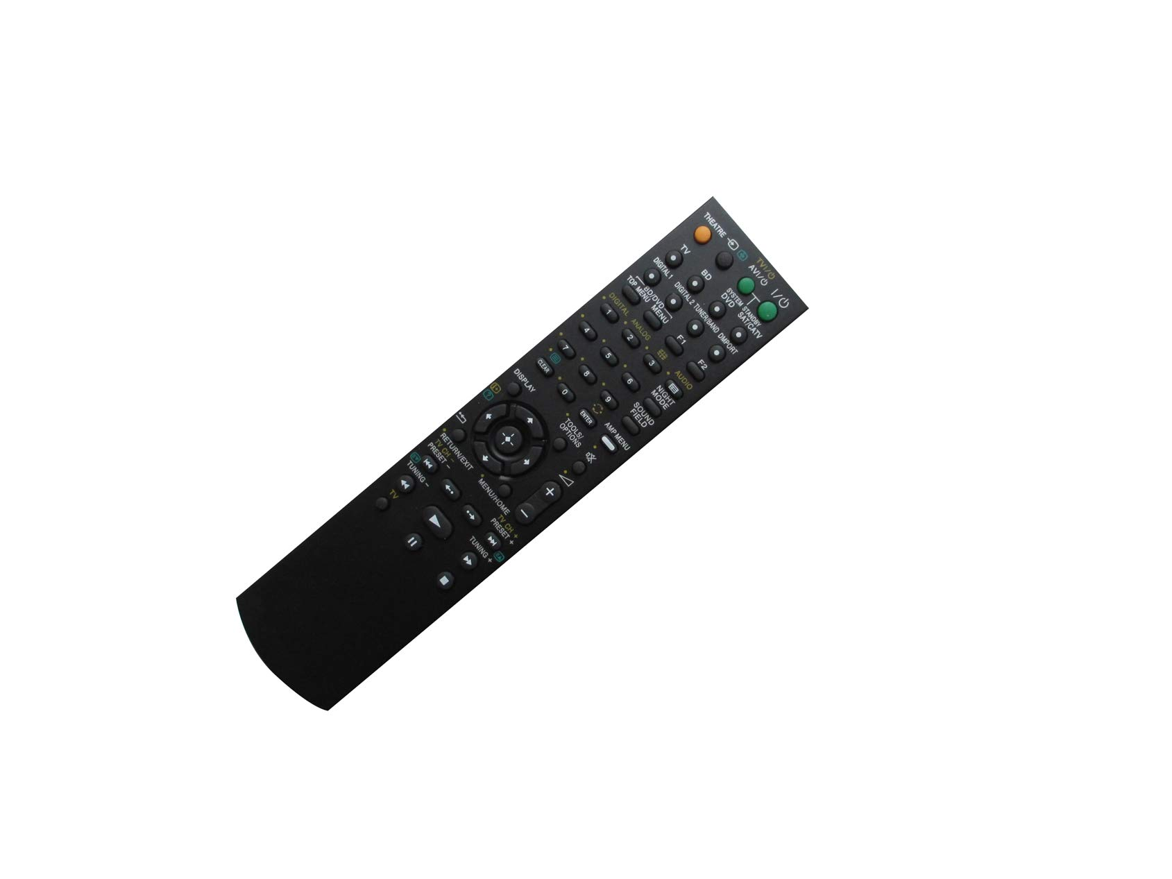 HCDZ Replacement Remote Control Fit for Sony STR-KS360 STR-KS360S STR-DG720 DVD AV Home Theater System A/V Receiver
