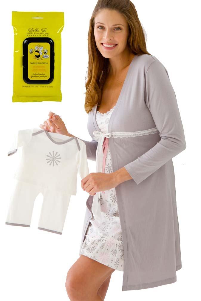 Belabumbum Bundle:5 items Maternity Sleepwear Starlit & Bella B Breastwipes XL
