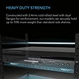 AC Infinity Vented Cantilever 1U Universal Rack