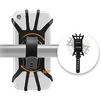 "Hually Bike Phone Holder, 360 ° Draaibare Bike Phone Mount Compatibel voor 4.7 ""tot 5.8"" Smartphone, Silicone Bicycle…"