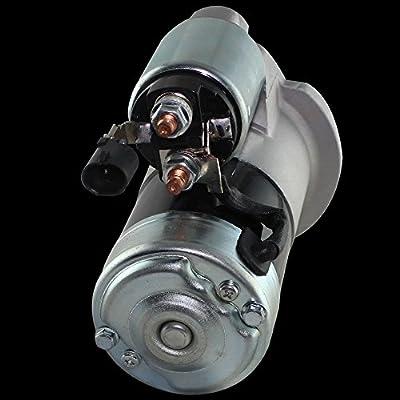 Replacement Engine Starter Motor for 99-04 Jeep Cherokee/ Grand/ Cherokee/ Wrangler/ TJ 2.4L 2.5L 4.0L 4.7L L4 L6