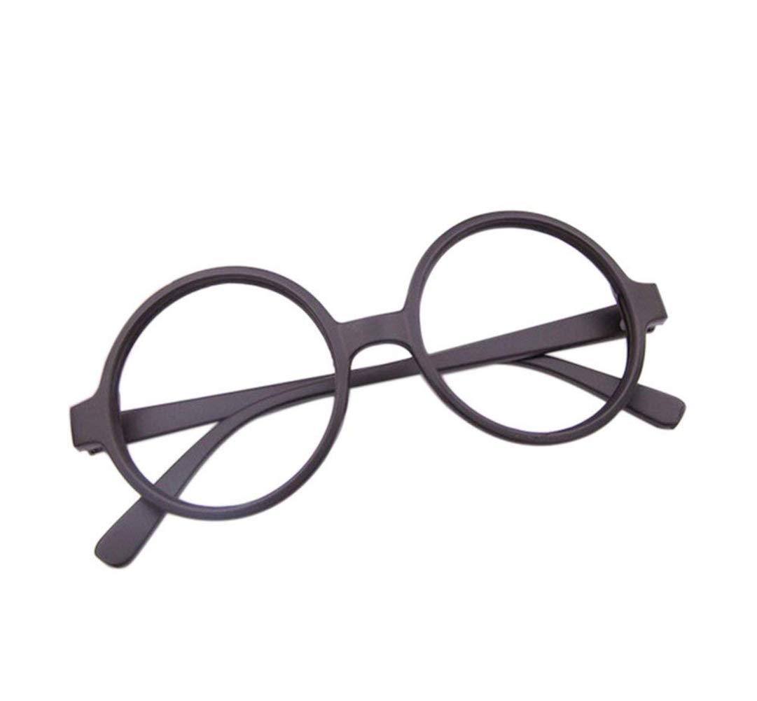 Wansan 1pc Stylish Boys Girls Children Kids Party Accessories Big Round Glasses Frame No Lenses
