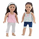 18 Inch Doll Clothes | Vintage Mix and Match Outfits, Includes 2 Tank Style ...