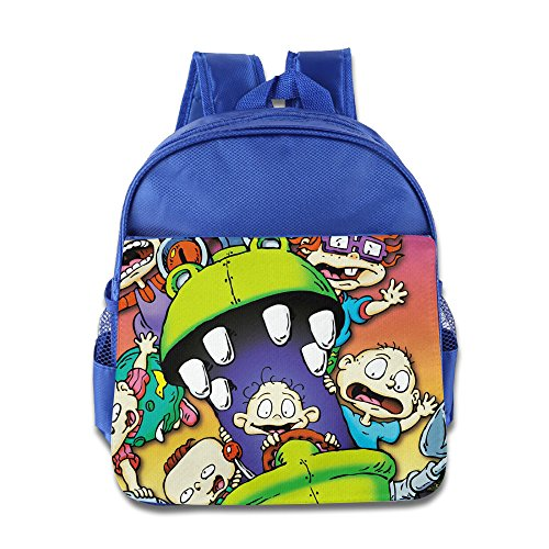 Rugrats Movie Kids School Backpack RoyalBlue (Dragon Ball Z Movie Pack 3)
