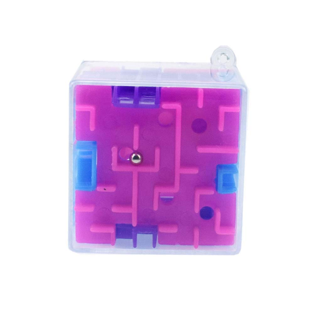 Cinhent Toys, 3D Cube Puzzle Maze Toy Hand Game Case Box Fun Brain Challenge Children Play Educational Fidget Learning Gifts, Promote Brain Early Development, Party Favors, 6+ Kids