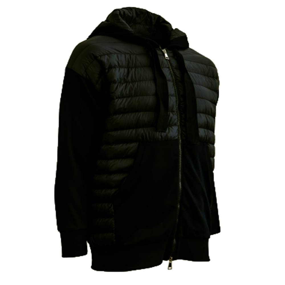 new product ff632 3fb64 Moncler Maglia Cardigan with Hood (Large, Black) at Amazon ...