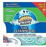 Scrubbing Bubbles Toilet Gel Rain Shower, 1 Dispenser and 12 Gel Stamps (Pack of 3) ,Scrubbing-fj