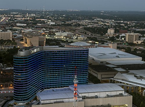 - Dallas, TX Photo - View from the Reunion Tower in Dallas, Texas, focusing on the Omni Hotel - Carol Highsmith