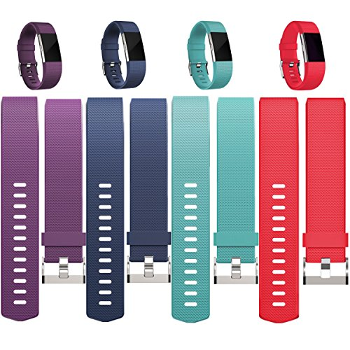 Replacement Bands For Fitbit Charge 2  Fitbit Charge2 Wristbands Small Plum Red Navyblue Teal