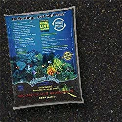 Fish & Aquatic Supplies Bio - Active &Quotlive&Quot Aragonite Black Beach Reef Sand 20Lb (2Pc)