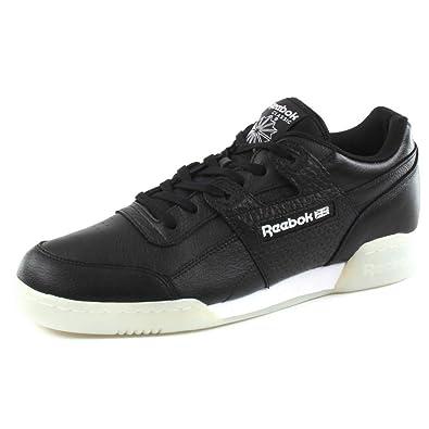9010e9ebae197 Reebok Baskets Workout Plus ID Noir Homme  Amazon.fr  Chaussures et Sacs