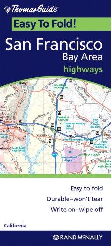 Rand Mcnally Easyfinder San Francisco/Bay Area Regional, California (Thomas Guide Easy to Fold!)