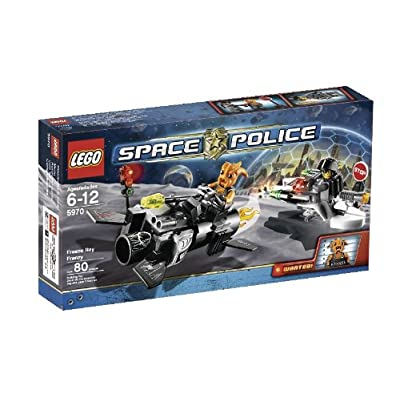 LEGO Space Police Freeze Ray Frenzy (5970): Toys & Games
