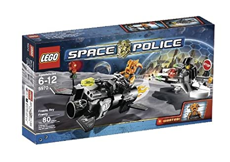 INSTRUCTION BOOK ONLY Lego Space Police 5970 Freeze Ray Frenzy No Lego