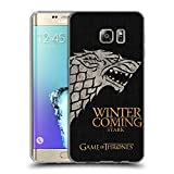 Official HBO Game Of Thrones Stark House Mottos Soft Gel Case for Samsung Galaxy S6 edge+ / Plus