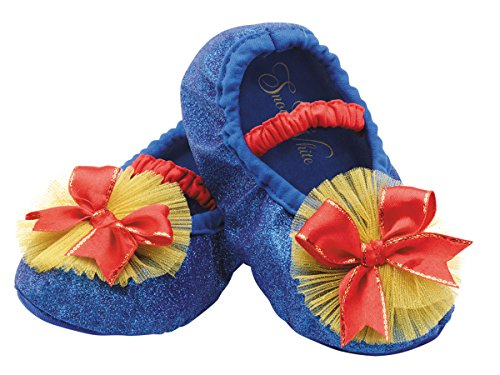 Disguise Costumes Snow White Slippers, Toddler, Size 6 by Disguise