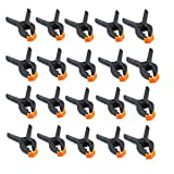 Dovewill 20x Small 2'' Plastic Spring Clamps Market Stall Tarpaulin Cover Clips Grips