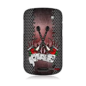 Rock Music Genre Design Back Case Cover For Blackberry Bold Touch 9900