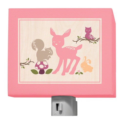 Oopsy Daisy Enchanted Forest Night Light, Animals, 5'' x 4'' by Oopsy Daisy
