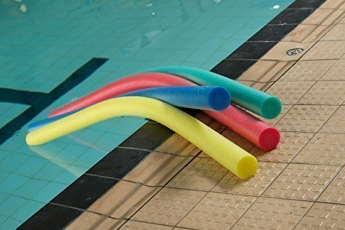 Creativeminds UK Swimming Pool Fun Playing Float Aid Woggle Noodle Assorted Colour (Sold Single) One Size Multi-Coloured