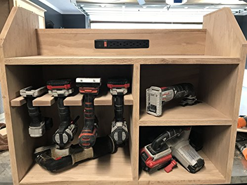 Charging Station and Tool Storage Cabinet by Bellewood Designs