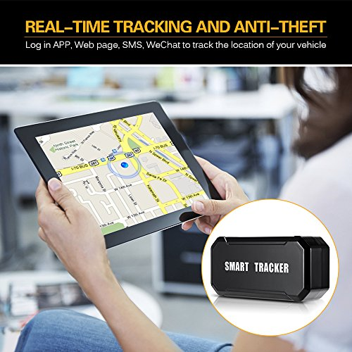 Lixada// Mini Portable USB Rechargeable Magnetic Vehicle GPS Tracker Wireless Outdoor Cycling Tracking System Real Time Locator Anti-Theft by Lixada/ (Image #6)