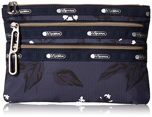 lesportsac-classic-3-zip-pouch-botanical-blue