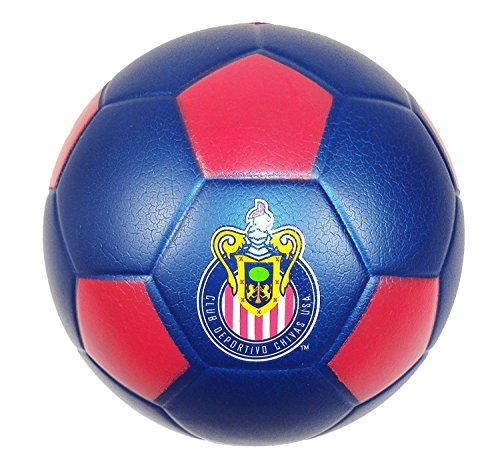 FoamHead Mini Indoor Outdoor Soccer Ball​ - MLS Licensed Chivas USA. (Usa Soccer Team Chivas)
