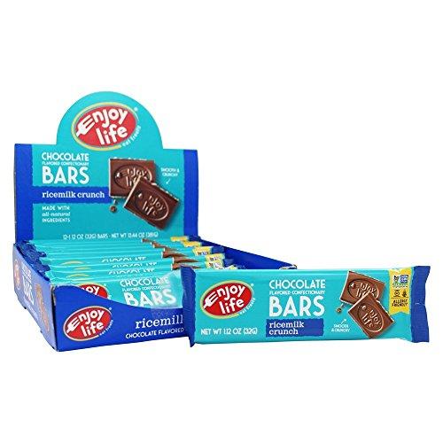 (Enjoy Life Rice Milk Crunch Bars, 12 ea, Net WT 13.44oz)