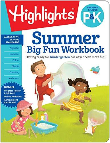 Fun Learning Activities - Summer Big Fun Workbook Bridging Grades P & K (Highlights(TM) Summer Learning)