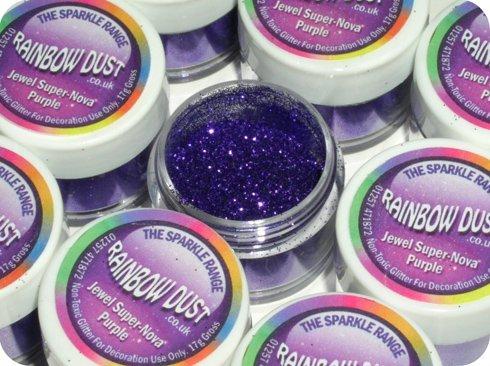 rainbow-dust-jewel-super-nova-purple-cake-glitter
