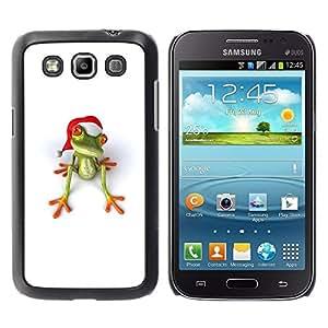 Be Good Phone Accessory // Dura Cáscara cubierta Protectora Caso Carcasa Funda de Protección para Samsung Galaxy Win I8550 I8552 Grand Quattro // White Christmas Holidays Happy Gift