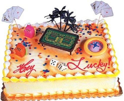 Oasis Supply Living Casino Gambling Cake Decorating Kit, Large, 1 Set