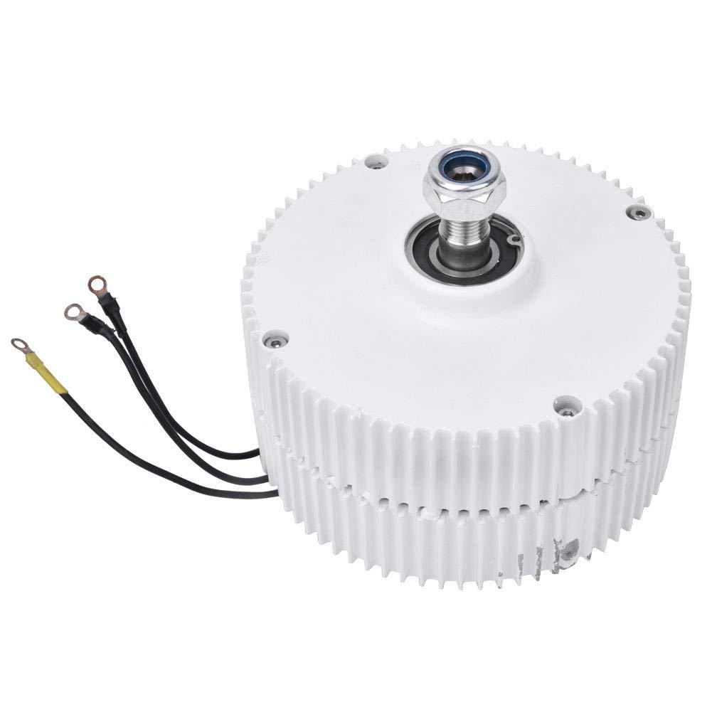 Liukouu 24V 400W Generador de imanes permanentes de turbina eólica Alternador síncrono trifásico NE-400(1 x generador)