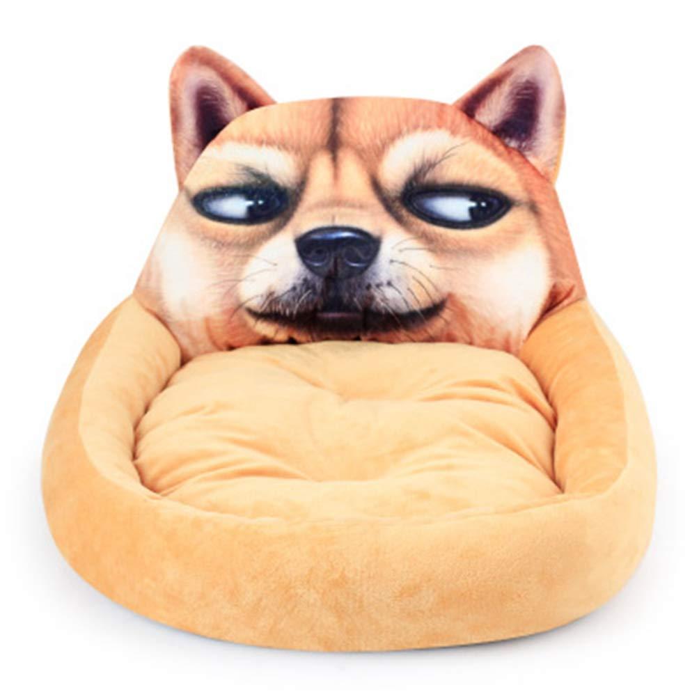 Amazon.com: Jim Hugh 3d dibujos animados perro camas para ...