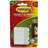 3M Command 17202 - Bandas adhesivas para colgar en la pared (tamaño pequeño)