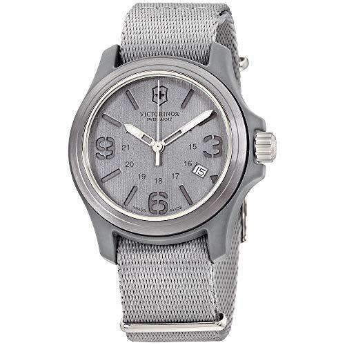 Victorinox Swiss Army Men's 241517 Original Black Dial and Strap Watch Watch