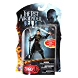 Spin Master Year 2010 Paramount Movie Series Avatar The Last Airbender Exclusive 4 Inch Tall Highly Articulated Action Figure - ZUKO with Halberd (Kwan Dao) and Broadsword by The Last Airbender