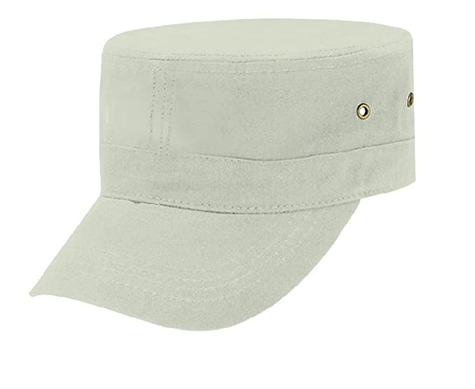Cotton Twill Patrol Painters Cap Adjustable Hat Unstructured Crown  Pre-Curved Visor (Beige) at Amazon Men s Clothing store  74ba5e160b35