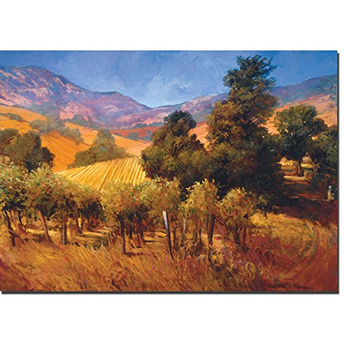 Southern Vineyard Hills by Philip Craig Premium Gallery-Wrapped Canvas Giclee (Ready to Hang)