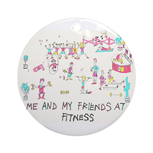 CafePress - Ornament (Round) - Round Holiday Christmas Ornament
