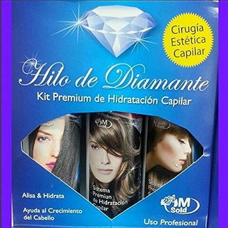 Cirugía Capilar kit Hilo de Diamante 4 Oz (3 steps)