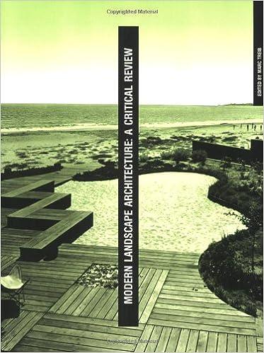 Modern Landscape Architecture A Critical Review The Mit Press