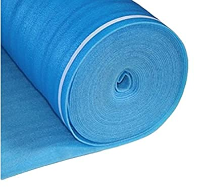 AMERIQUE Laminate Flooring Underlayment Padding with Tape & Vapor Barrier 3-in-1 Heavy Foam 3 mm Thick, 200SQFT per Roll
