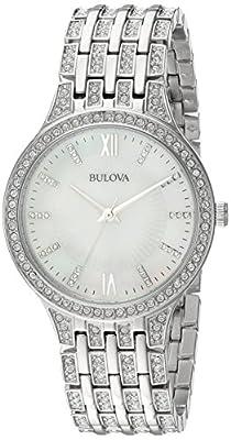 Bulova Women's 96L242 Swarovski Crystal Stainless Steel Watch from Bulova Corporation