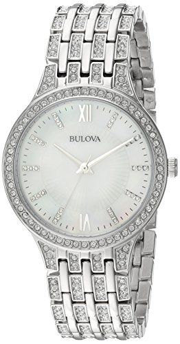 Bulova Women's 96L242 Swarovski Crystal Stainless Steel (Bulova Watch)