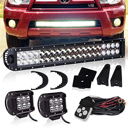 TURBOSII 20inch 120w OSRAM Chips LED Light Bar Spot for sale  Delivered anywhere in Canada