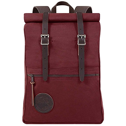 Duluth Pack Scout Rolltop Pack (Burgundy) by Duluth Pack